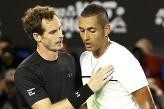 Энди Маррей (слева) лишил Australian Open последнего австралийца в мужском одиночном разряде