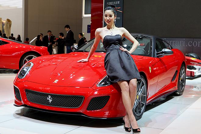 Ferrari 599 GTO 2011. Самая дорогая из «Феррари» Криштиану Роналду