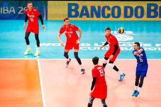 Сборная России играет в финале волейбольной Мировой лиги