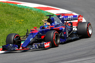 Даниил Квят показал 13-й результат в обеих практиках Гран-при Венгрии