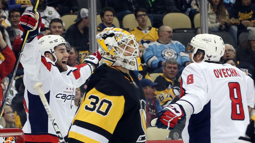 """Овечкин провел тысячный матч в НХЛ, а """"Вашингтон"""" выиграл дивизион"""