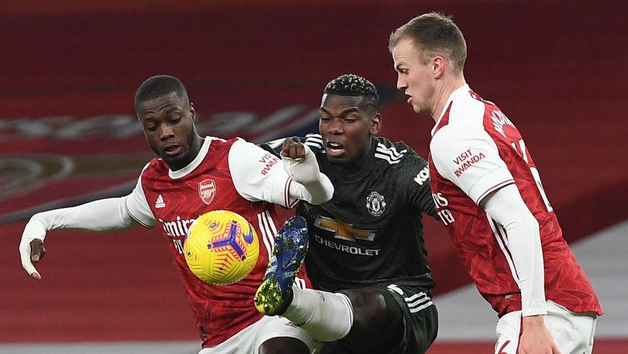 Эпизод матча «Арсенал» — «Манчестер Юнайтед»