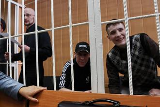 Руслан Хубаев, Игорь Березюк и Кирилл Унчук (слева направо)