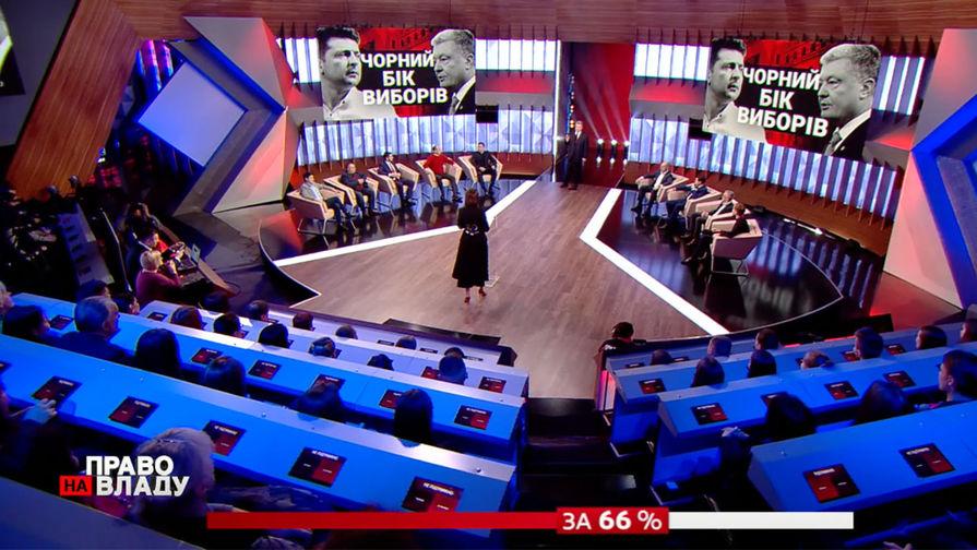 Скандал в эфире: о чем поспорили Порошенко и Зеленский
