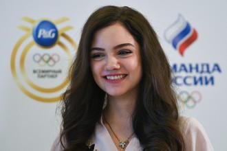 Фигуристка Евгения Медведева — одна из главных олимпийских надежд России