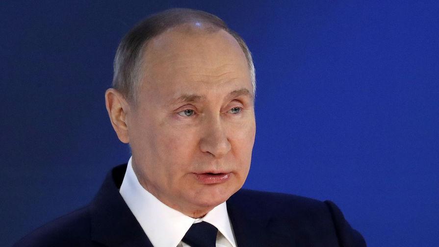 Путин заявил о постепенном выходе России из сложной эпидситуации