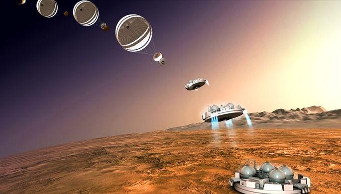 Schiaparelli подумал, что уже на Марсе