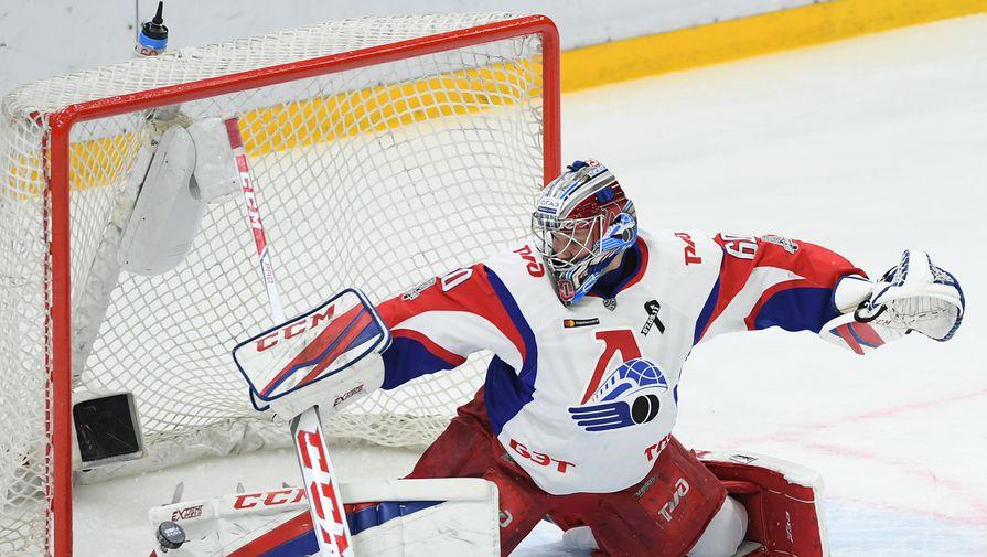 Вратарь хоккейного клуба «Локомотив» Алексей Мурыгин