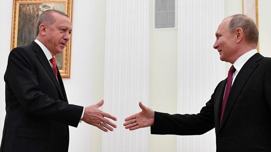 Песков подтвердил визит Эрдогана в Москву