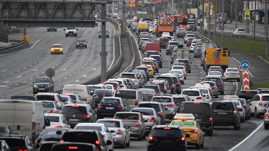 Пробки на въезде в Москву, 15 апреля 2020 года