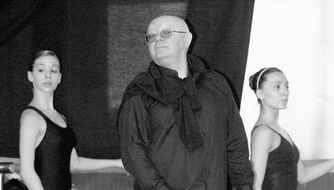 Балерина Майя Плисецкая и главный балетмейстер Большого театра Юрий Григорович во время беседы, 1986 год