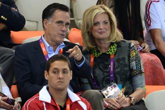 Митт Ромни не зря любит посещать спортивные мероприятия