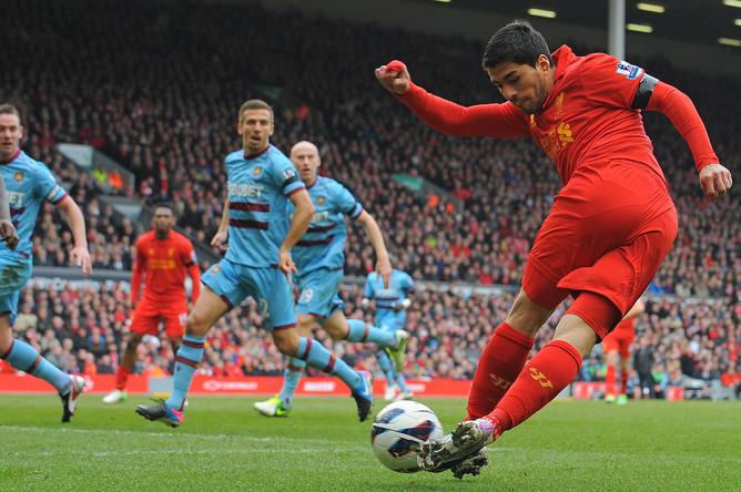 «Ливерпуль» — «Вест Хэм Юнайтед»- 0:0. «Рабона» от Луиса Суареса