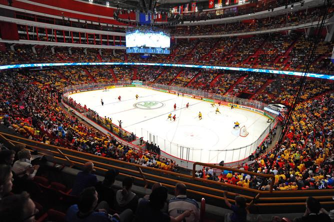 Интерес к финальному матчу мирового первенства в Стокгольме был высок