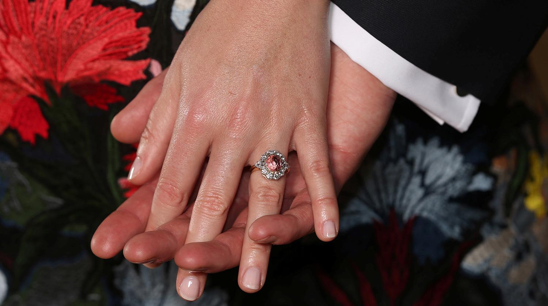 Помолвочное кольцо принцессы Евгении