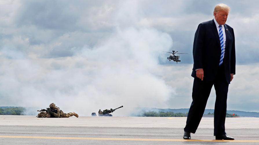 На зависть России и Китаю: Трамп рассказал о вооружениях США