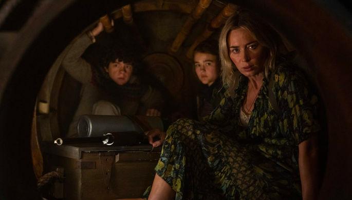 Кадр из фильма «Тихое место 2» (2020)