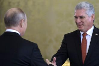 США давят: зачем президент Кубы прилетел к Путину