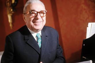 Композитор Матвей Блантер, 1973 год
