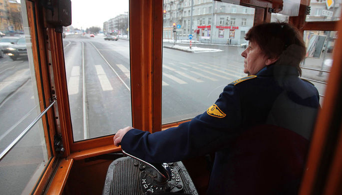 Пожар в трамвае произошел на юге Москвы