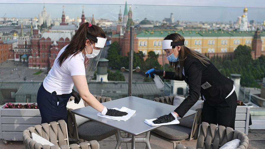 Названа дата открытия летних веранд в заведениях Москвы