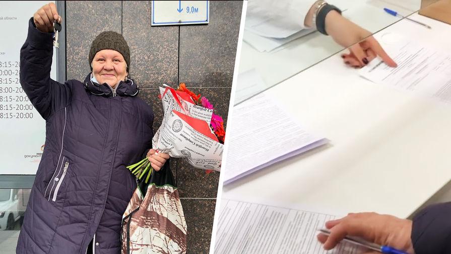 Россияне помогли купить квартиру омичке, прожившей 35 лет в бочке