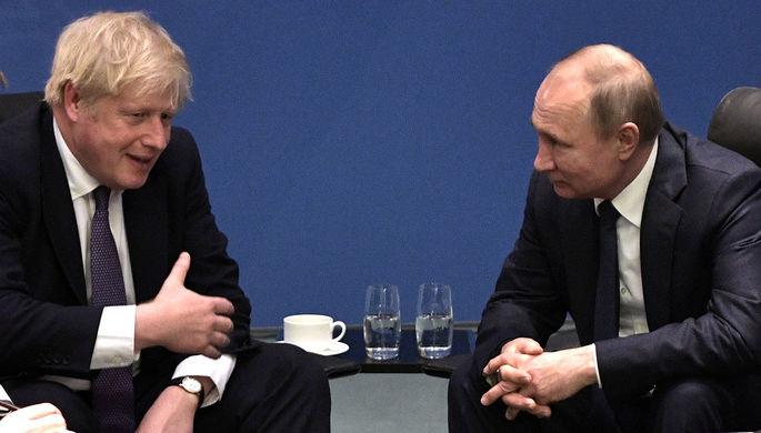 За Скрипалей: Джонсон отказался мириться с Россией