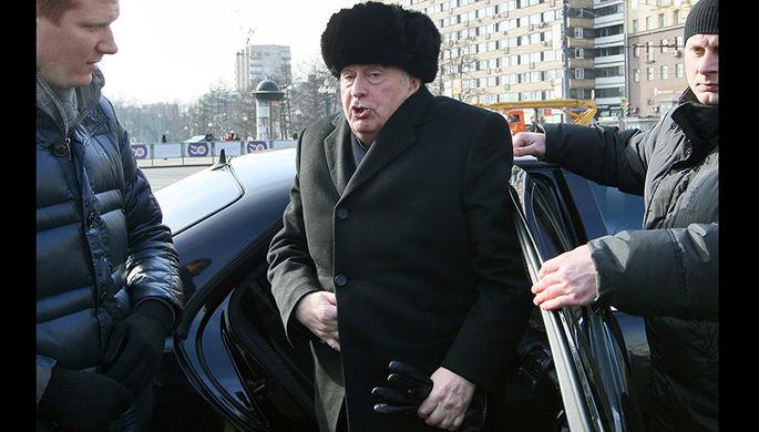 Владимир Жириновский на Пушкинской площади, 2013 год