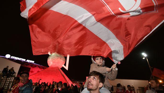 После известия о триумфе «Спартака» фанаты гуляли всю ночь