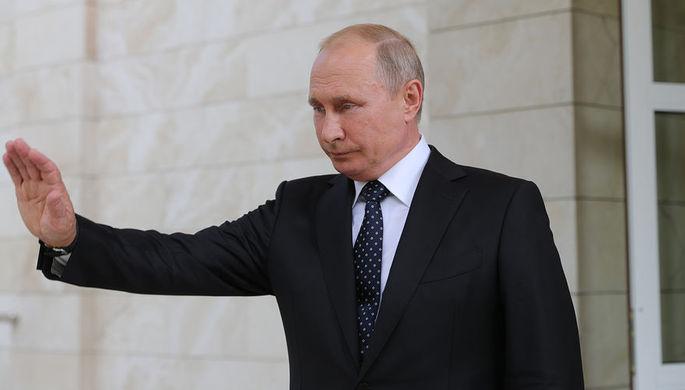 Путин освободил от должности главу МВД по Крыму