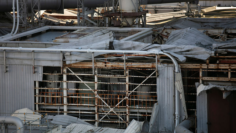 Здание первого блока реактора «Фукусима-1», февраль 2020 года