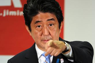 Премьер-министр Синдзо Абэ займется укреплением японской военной мощи