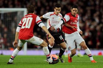 «Арсенал» обыграл «Ливерпуль» в 1/8 финала Кубка Англии