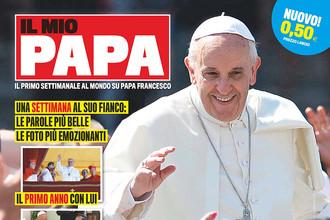 Обложка первого номера журнала «Мой Папа» — Il Mio Papa
