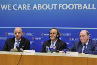 Президент УЕФА Мишель Платини и его коллеги решили организовать Лицу наций для европейских сборных