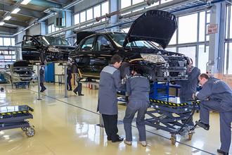 Сборка автомобиля на заводе ОАО «АВТОВАЗ»