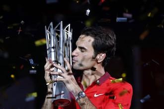 Победа в Шанхае стала для Федерера первой в карьере, а потому — особенной