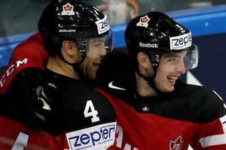 Сборная Канады разгромила немцев на чемпионате мира по хоккею