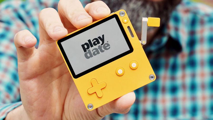 Игровая консоль Playdate