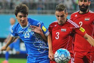 Сборная Сирии выиграла у Узбекистана в отборочном матче к чемпионату мира в России