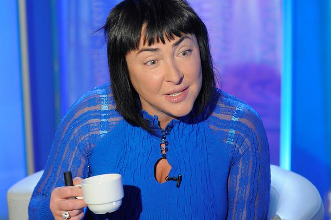 Лолита Милявская на съемках передачи, 2011 год