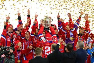 Сборная России в момент триумфа