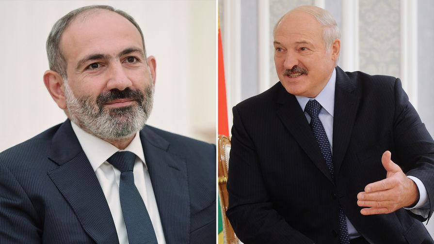 Лукашенко и Пашинян обсудили цены углеводороды из РФ