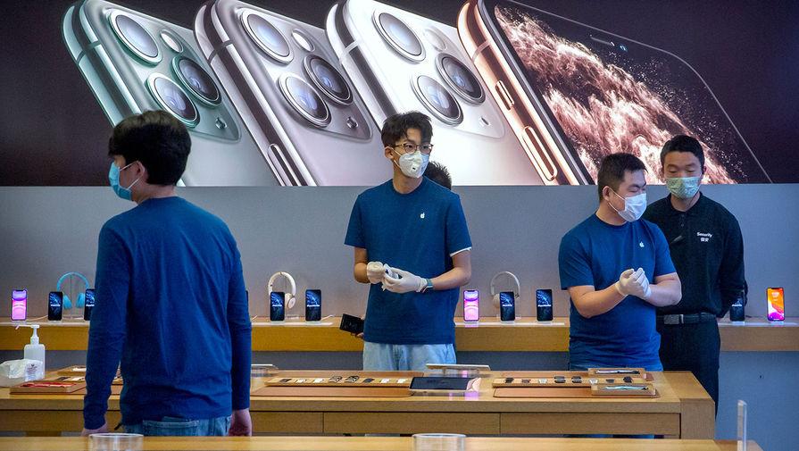 Apple ограничивает поставки iPhone из-за коронавируса