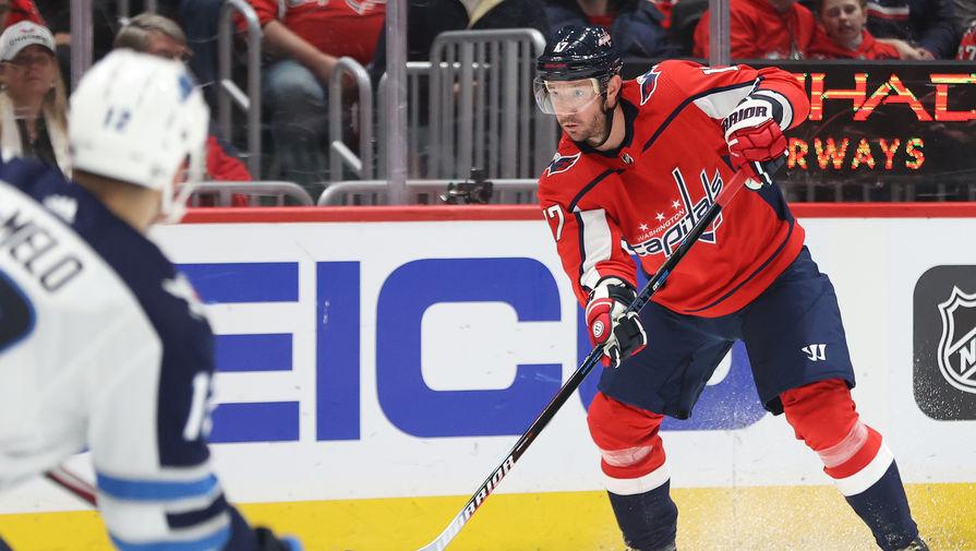 Хоккеист Илья Ковальчук в составе «Вашингтон Кэпиталз»