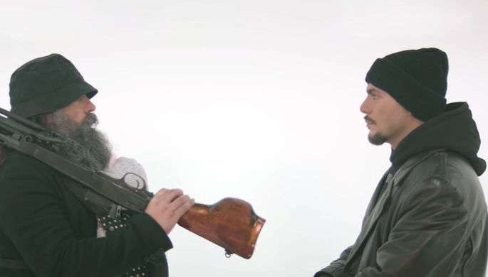 Кадр из тизера фильма «Брат 3»