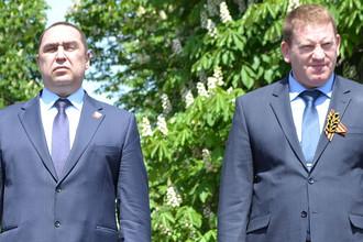 Игорь Плотницкий и Геннадий Цыпкалов (справа)