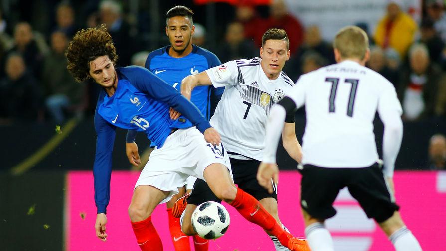 Германия и Франция сыграли вничью в рамках Лиги наций