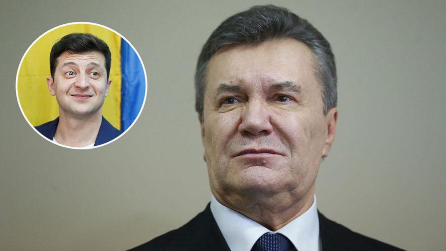 «Порошенко вынесли приговор»: Янукович поздравил Зеленского с победой