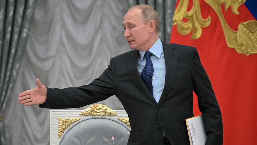 Путин заявил о сокращении количества типов используемых ракет
